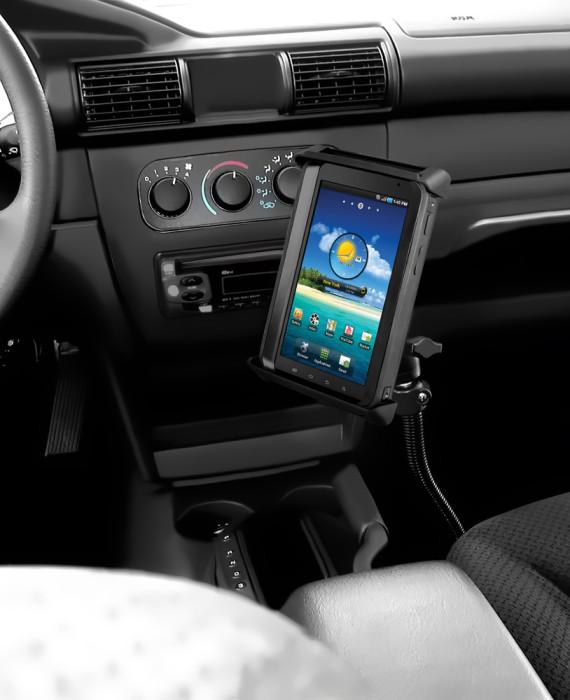 Ram Mount Locking Samsung Galaxy Tab 3 No Drill Vehicle