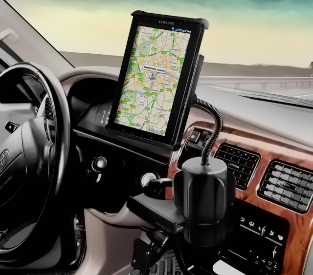 Ram Universal X Grip Tablet Cup Holder Mount Position